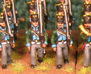 15mm, Napoleonic Prussian Fusilier (1806) AB 24 figures